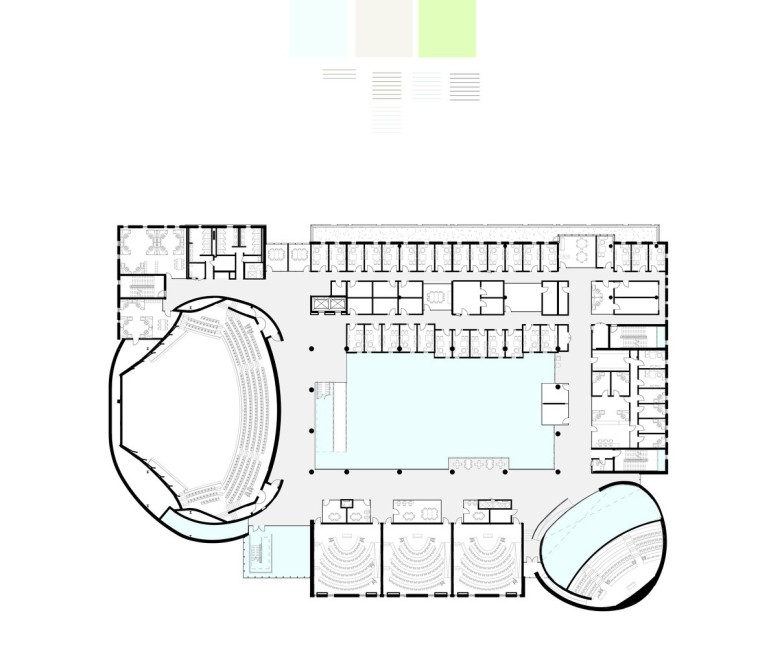 劳里埃大学拉扎里迪斯大楼平面图(15)