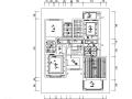 [山东]新中式风格别墅设计施工图(附效果图)