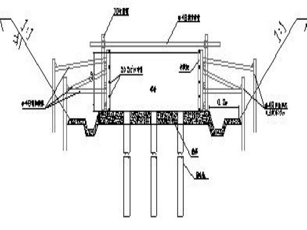 桥梁及附属道路施工组织设计