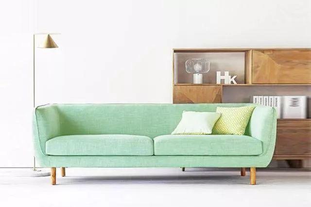 你不知道的客厅彩色沙发,给你不一样的格调。_9