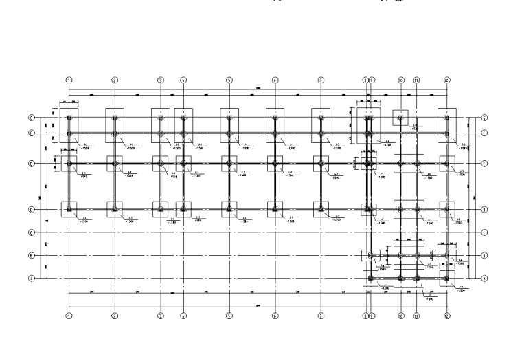 某七层倒L型框架毕业设计(建筑图结构图计算书)