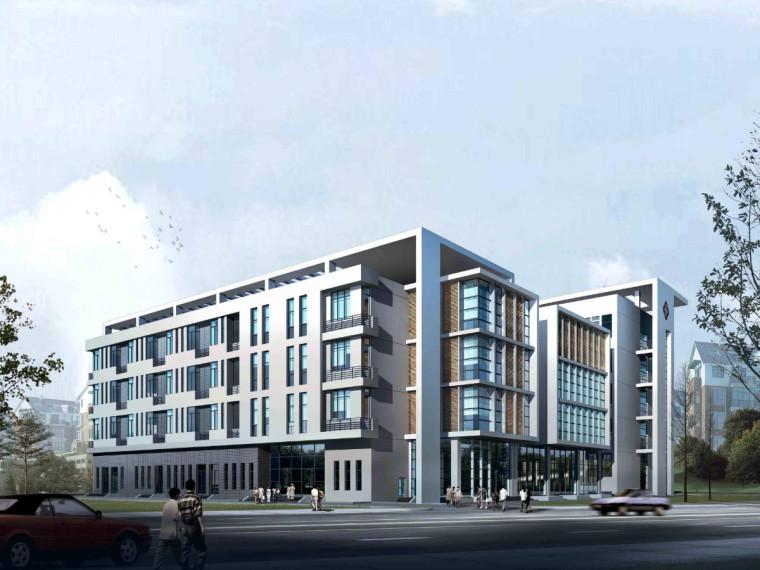 [四川]五层框架结构医院门诊楼建筑工程量计算实例(手算电算)