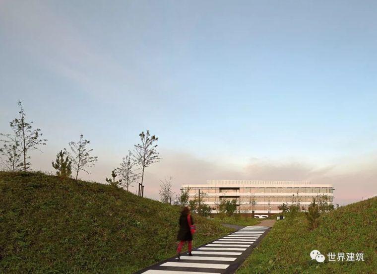 Insite建筑事务所资料下载-新作|PLH建筑事务所|海泽胡瑟讷DSV新总部|遮阳