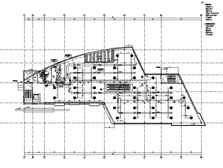 全套凤凰城二期商业街暖通系统施工图(CAD)