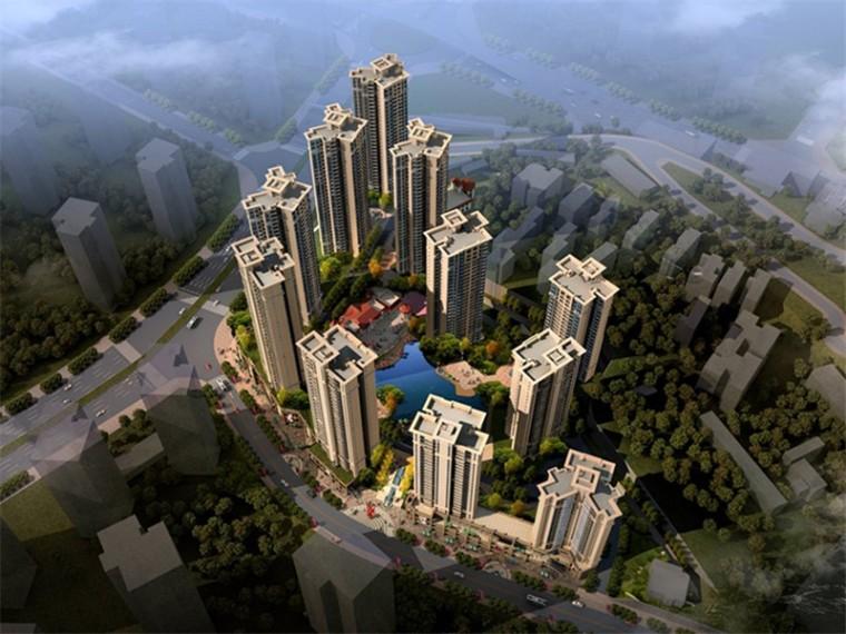 [重庆]欧式现代大型住宅区建筑设计方案文本(大型地产公司)