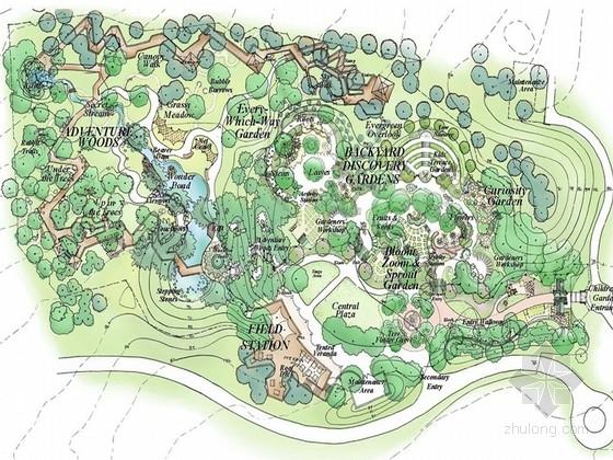 [美国]儿童森林公园景观设计方案(英文)