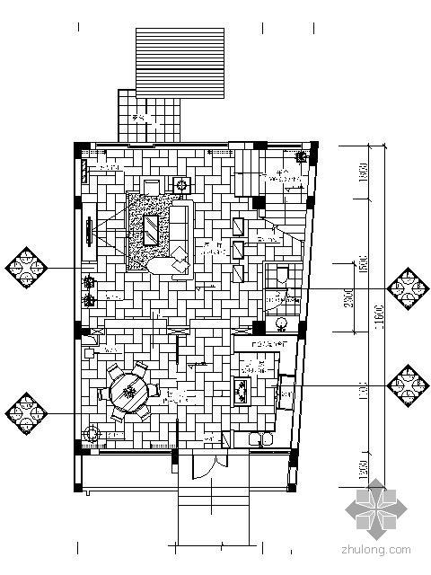 [云南]现代海景别墅样板房施工图(含实景)