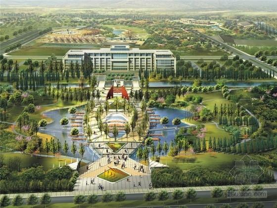 [浙江]现代与传统融合生态景观区景观规划设计方案