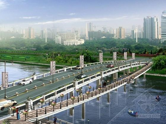 [西安]滨河桥体景观规划设计方案(含CAD施工图纸)