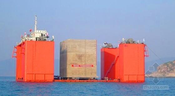 [山东]10万吨级通用泊位重力式码头工程施工组织设计