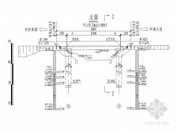 1-13m后张法预应力简支T梁设计图(37张)