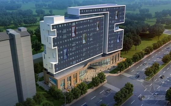[江苏]多彩外廊开窗式老年公寓建筑设计方案文本(含CAD)