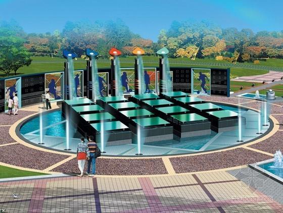 [镇江]大型广场透水混凝土道路及室外排水工程招标文件及清单(全套清单)