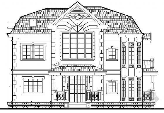 某小别墅建筑施工图(全套)
