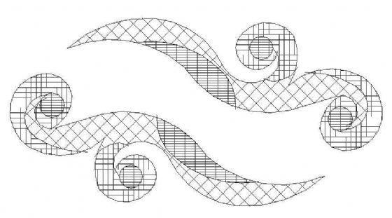 一些园林常用CAD色块-3