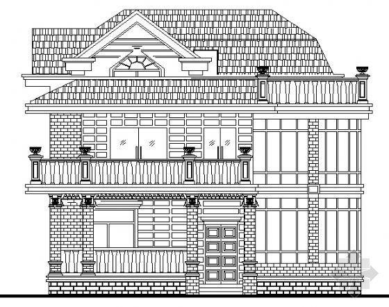 某私家别墅建筑施工图