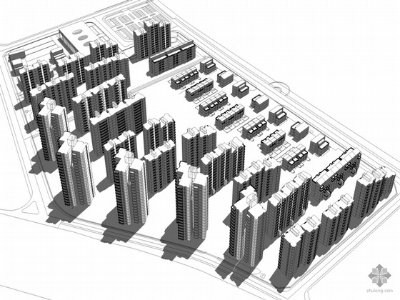 [四川]某成熟社区建筑方案设计文本