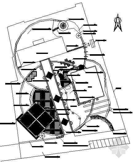 浙江老年活动中心环境设计施工图