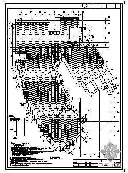 某体育运动中心附楼结构设计图