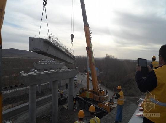 公跨铁大桥25m空心板梁架设专项方案(63页)