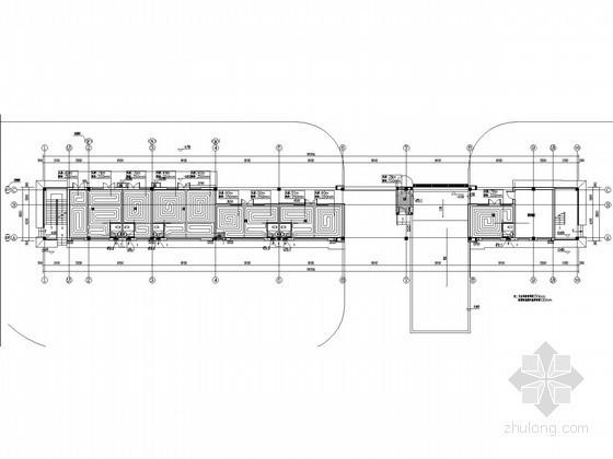 采暖管网施工图资料下载-[河北]多层商业建筑采暖通风系统设计施工图
