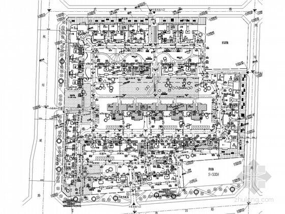 [四川]单元式住宅楼给排水消防施工图