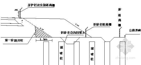 [江苏]高速公路工程拼宽段施工技术方案