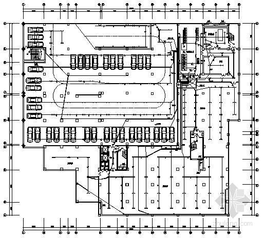 十六层商业和办公综合楼全套电气施工图纸