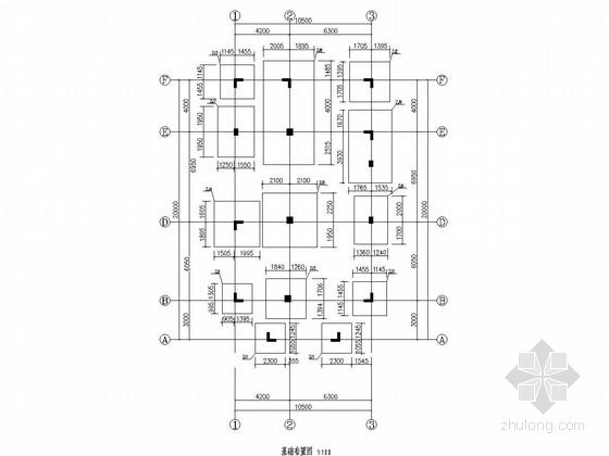 [广东]六层框架结构私人住宅结构施工图