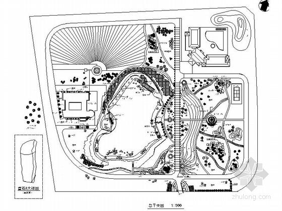 [重庆]办公区周边景观规划设计施工图