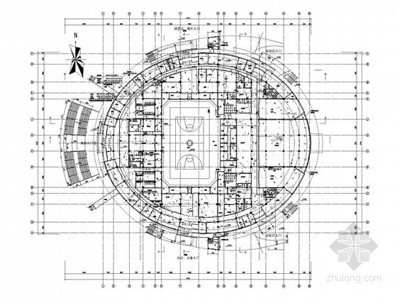 [甲级设计院]甲级体育馆全套电气施工图纸(含自控系统)