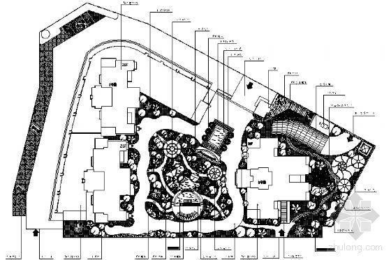西安住宅小区全套景观设计施工图