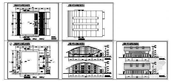 某中学文体馆方案图-4