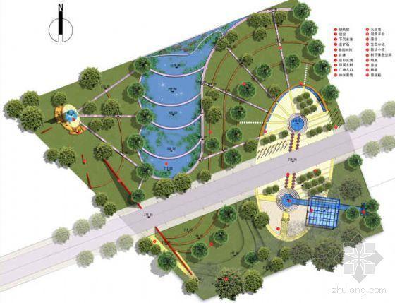 重庆丰都工业区入口广场景观设计