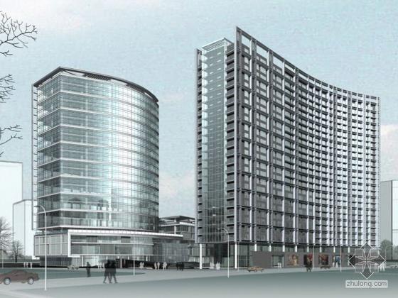 [北京]金融街某综合商业楼群建(A3项目)筑设计方案文本