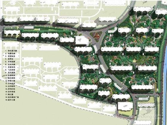 [宁夏]居住区环境景观设计方案文本