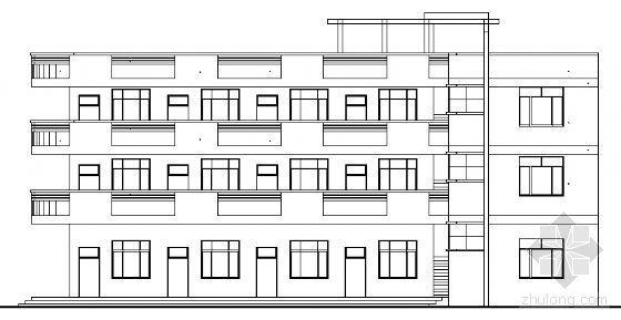 永春县某三层医院门诊综合楼建筑结构设计图