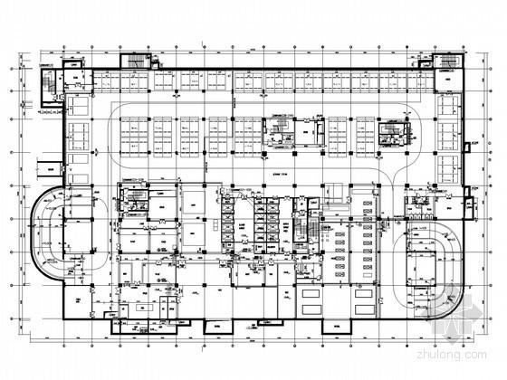[广东]知名三级甲等医院变配电系统施工图纸(地下四层)