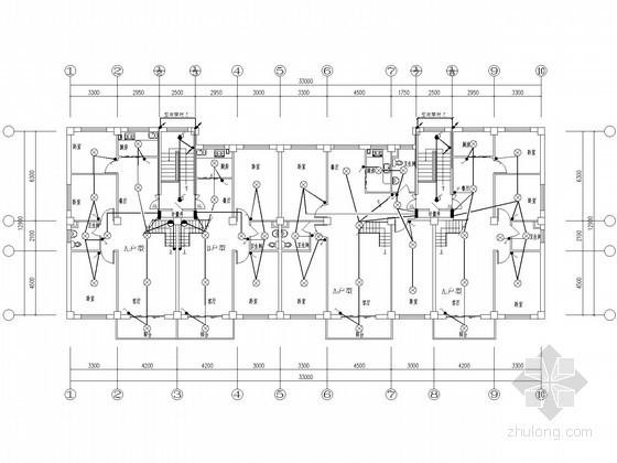 旧城改造工程商业街住宅项目电气施工图纸