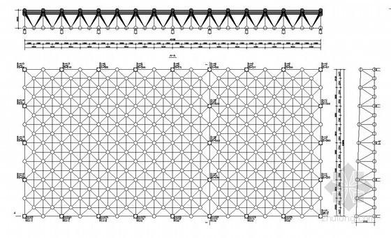 大口径空间光学制造中心厂房结构施工图