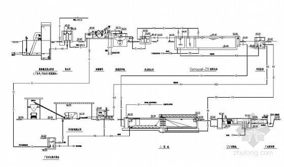污水处理厂全套施工图(Carrousel氧化沟 污泥泵房)