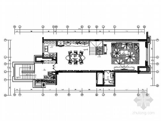 [重庆]花园洋房叠拼别墅室内装修CAD施工图(含效果)