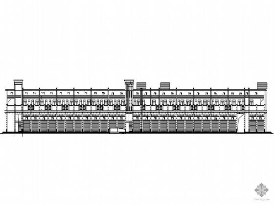 [东莞市石碣镇]某经济联合社农贸市场建筑施工套图(2009年设计)