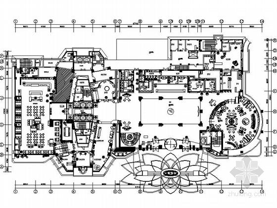[陕西]投资8.6亿兴建核心区高大上超五星级度假酒店设计施工图(含效果)