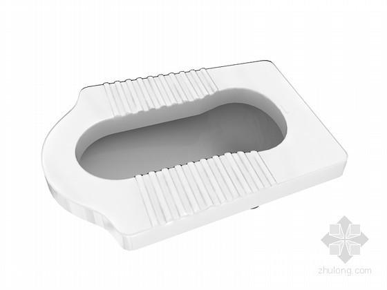 蹲便器3D模型下载