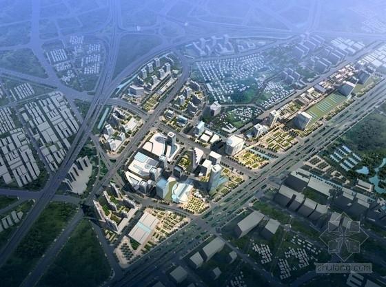 [广东]现代风格新中心片区城市规划设计方案文本(含多个地块设计)