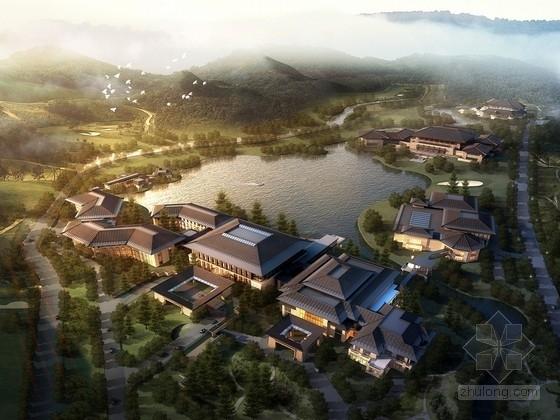 [辽宁]新中式风格全运会接待中心设计方案文本