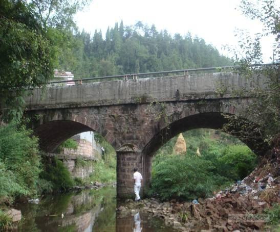 [湖南]实腹重力式桥梁检测方案