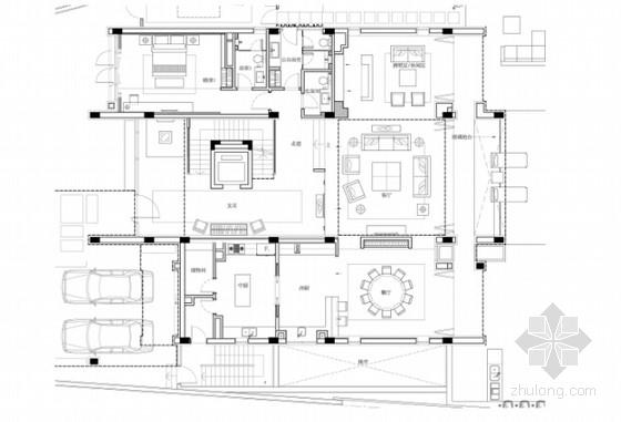 [海南]五星大酒店现代别墅项目设计方案共3套(含效果图)