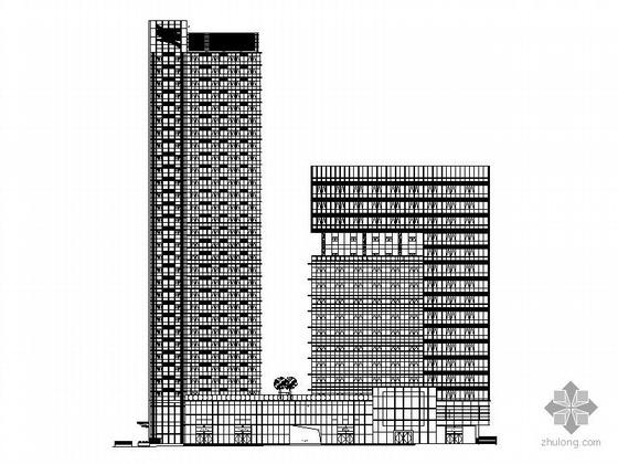 某三十层综合办公楼建筑施工图(99.9米)